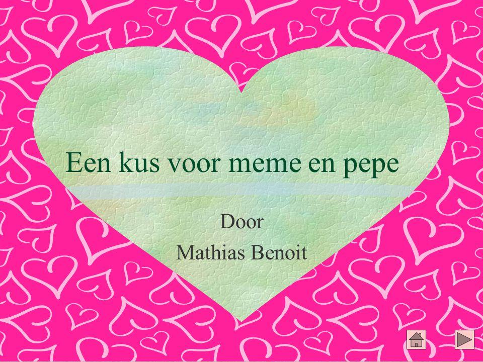 Een kus voor meme en pepe