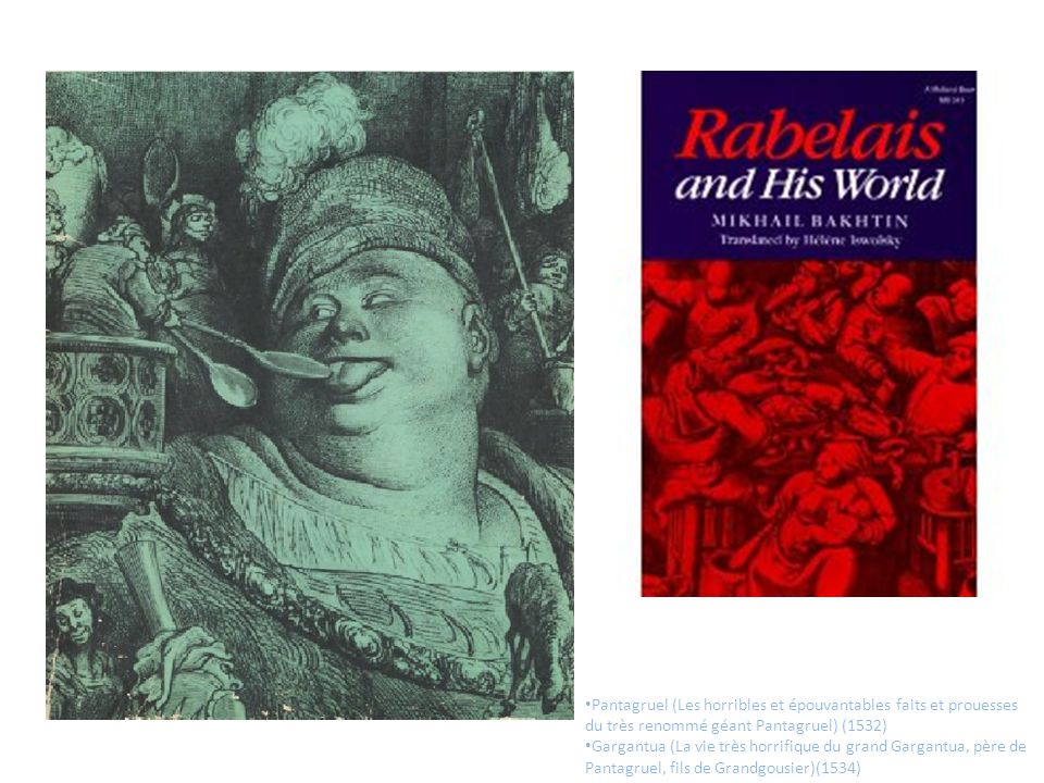 Pantagruel (Les horribles et épouvantables faits et prouesses du très renommé géant Pantagruel) (1532)