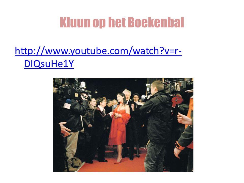 Kluun op het Boekenbal http://www.youtube.com/watch v=r-DIQsuHe1Y