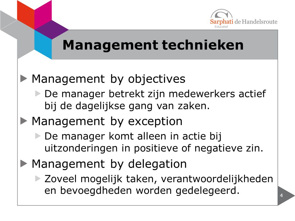 Management technieken