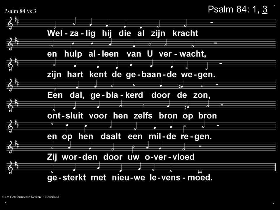 . Psalm 84: 1, 3 . .