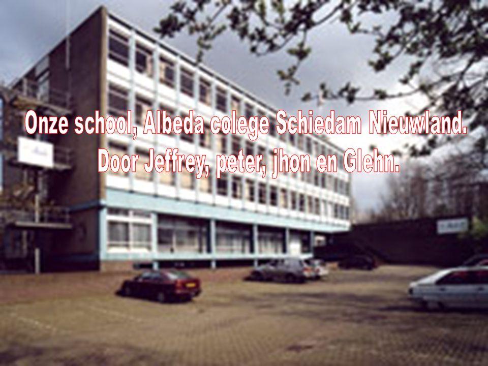Onze school, Albeda colege Schiedam Nieuwland.