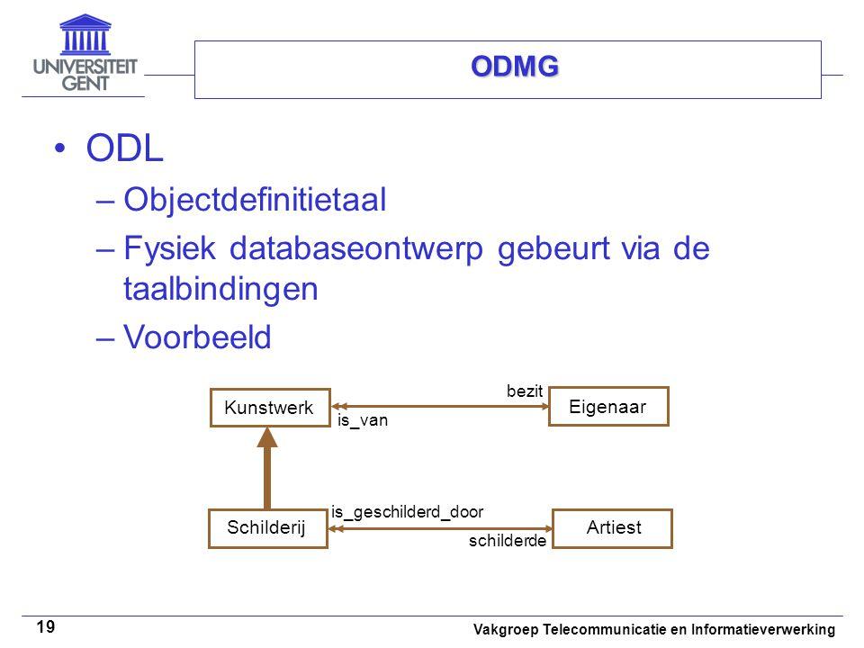 ODL Objectdefinitietaal