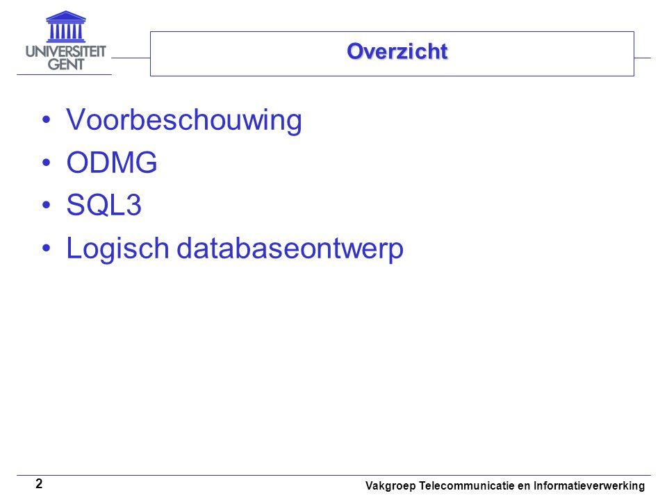 Logisch databaseontwerp