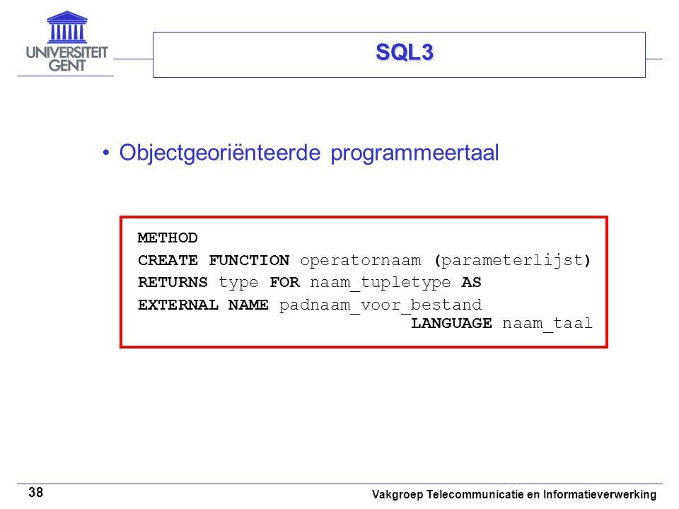 Objectgeoriënteerde programmeertaal
