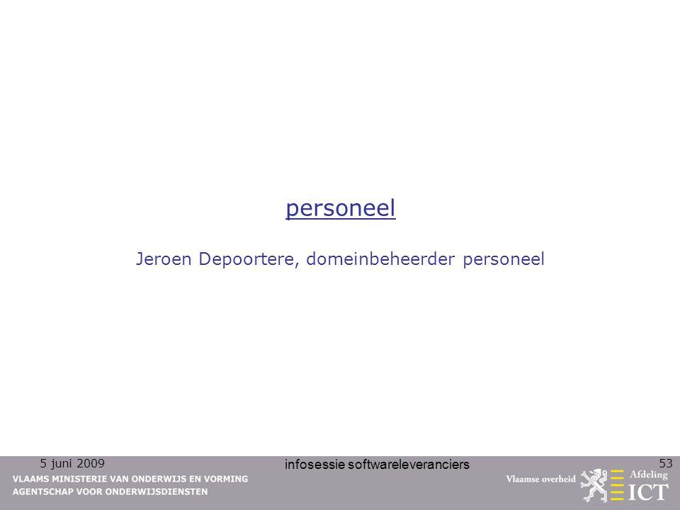 personeel Jeroen Depoortere, domeinbeheerder personeel