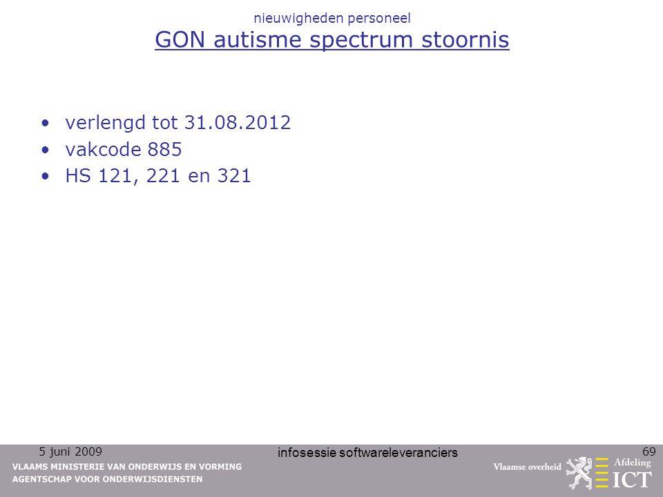 nieuwigheden personeel GON autisme spectrum stoornis