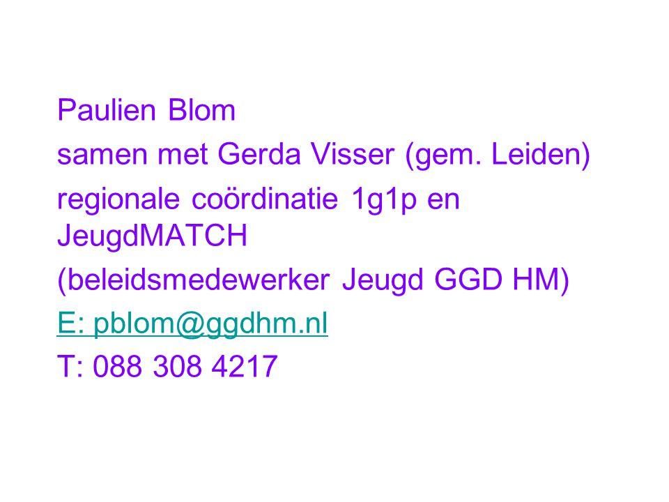 samen met Gerda Visser (gem. Leiden)