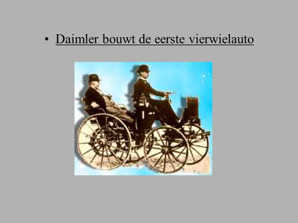 Daimler bouwt de eerste vierwielauto