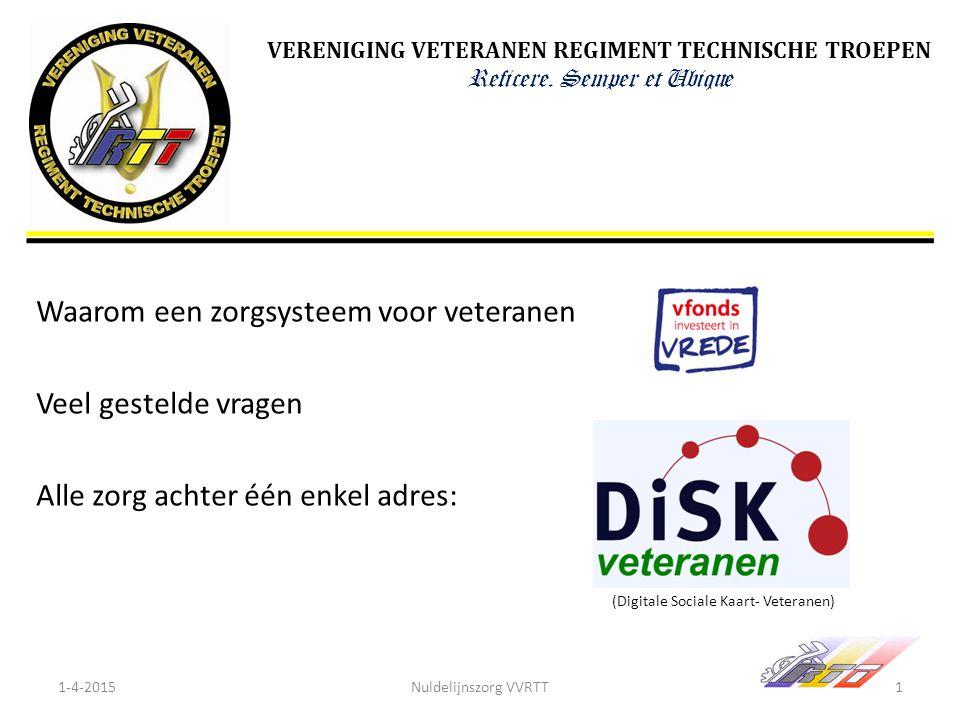 (Digitale Sociale Kaart- Veteranen)