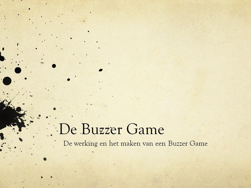 De werking en het maken van een Buzzer Game