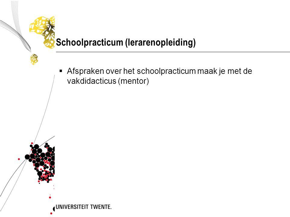 Schoolpracticum (lerarenopleiding)