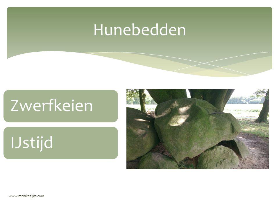 Hunebedden Zwerfkeien IJstijd www.maaikezijm.com