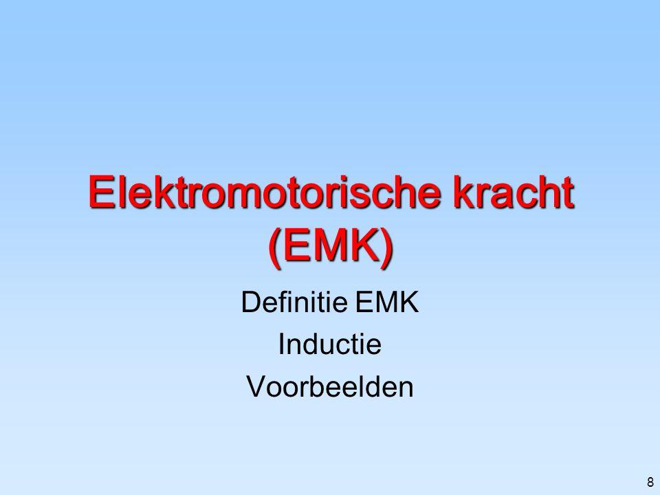 Elektromotorische kracht (EMK)