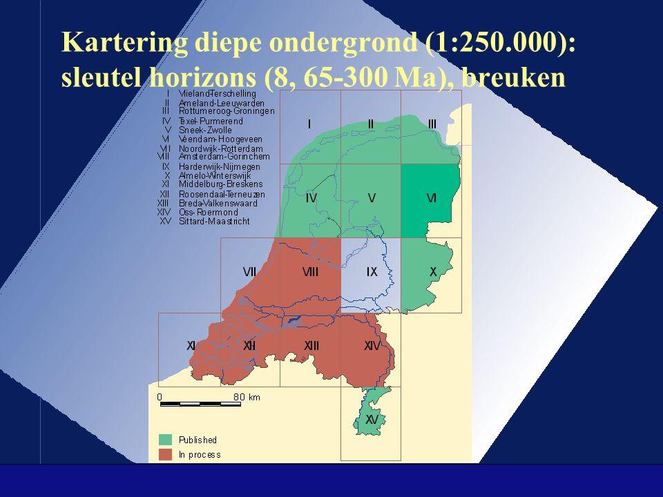 Kartering diepe ondergrond (1:250
