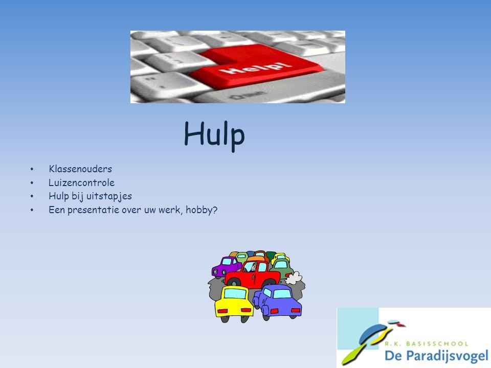 Hulp Klassenouders Luizencontrole Hulp bij uitstapjes