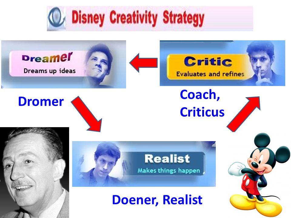 Coach, Criticus Dromer Doener, Realist