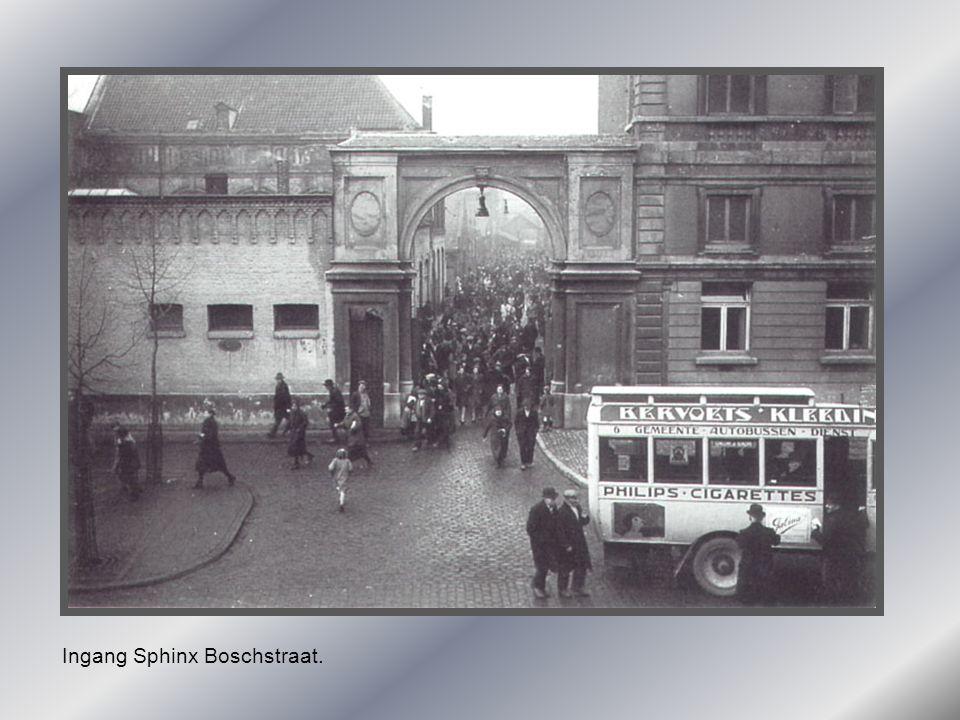 Ingang Sphinx Boschstraat.