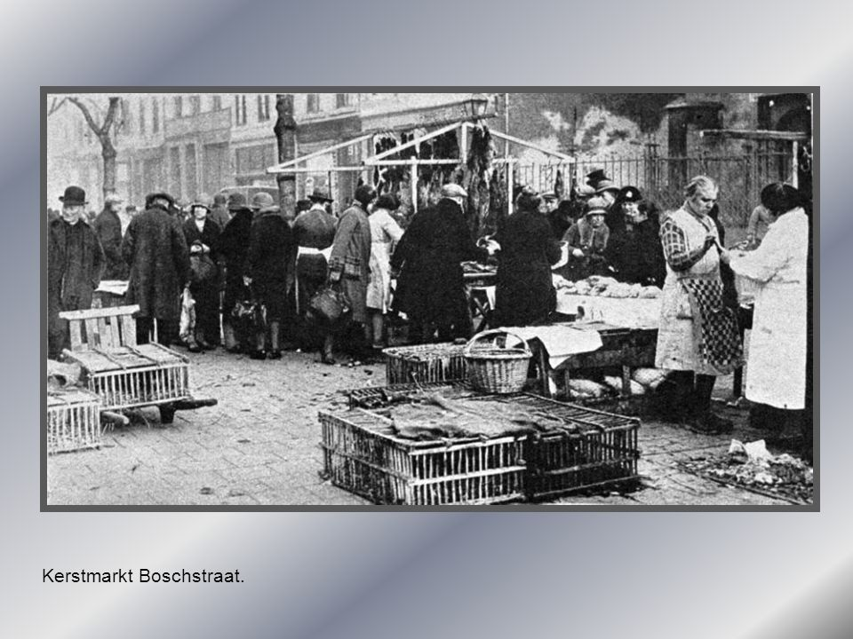 Kerstmarkt Boschstraat.