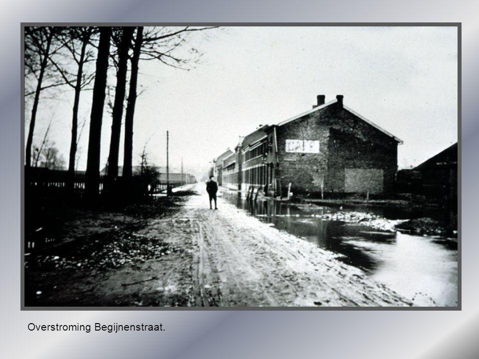 Overstroming Begijnenstraat.