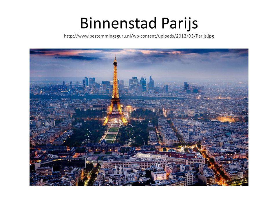 Binnenstad Parijs http://www. bestemmingsguru