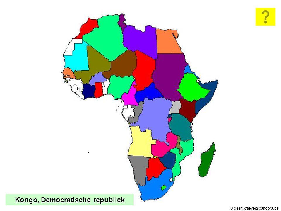 Kongo, Democratische republiek
