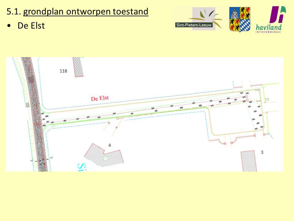 5.1. grondplan ontworpen toestand De Elst