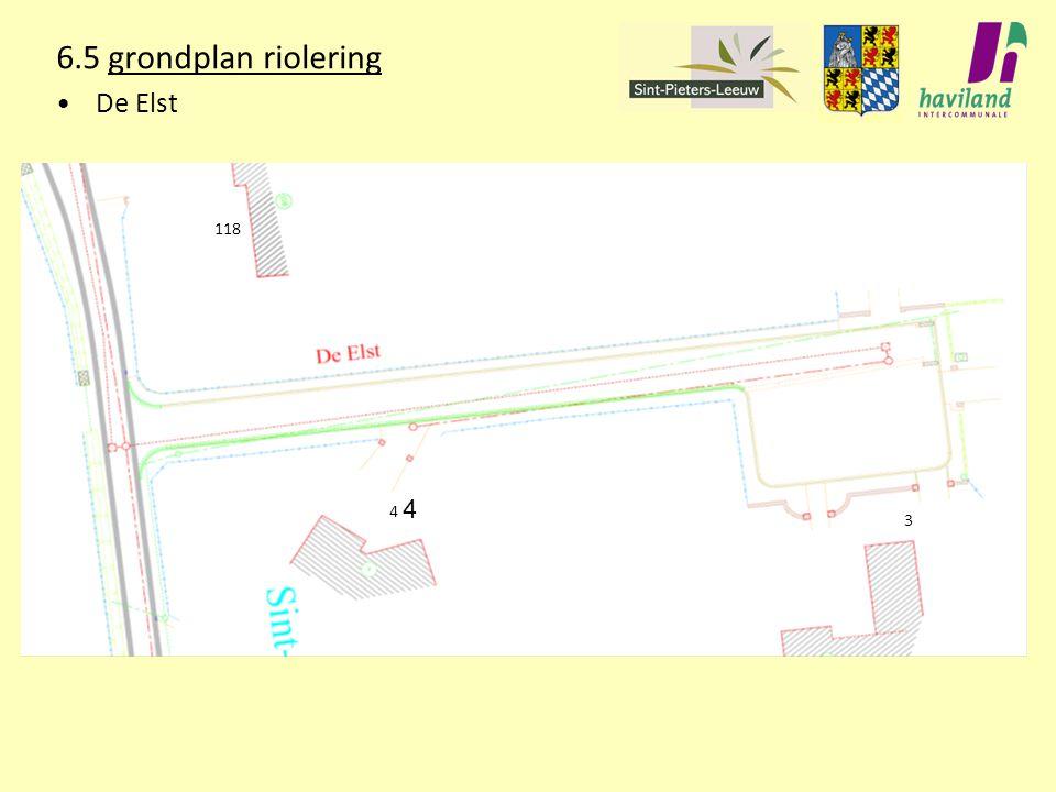6.5 grondplan riolering De Elst 118 4 4 3