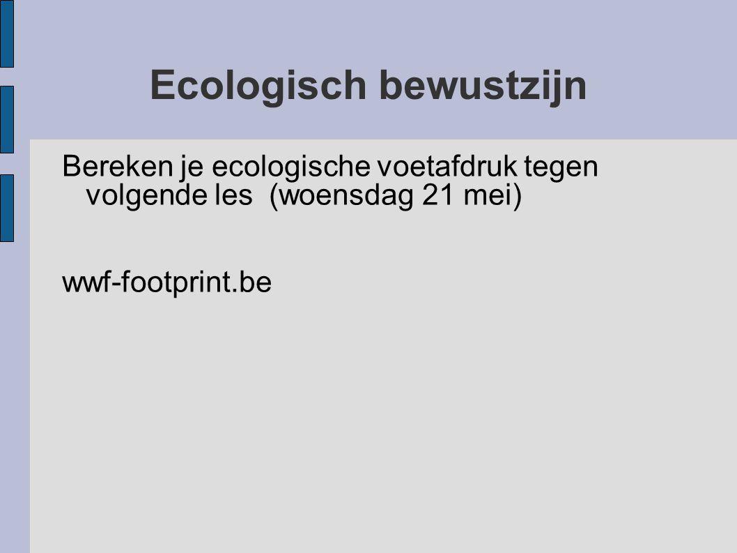 Ecologisch bewustzijn
