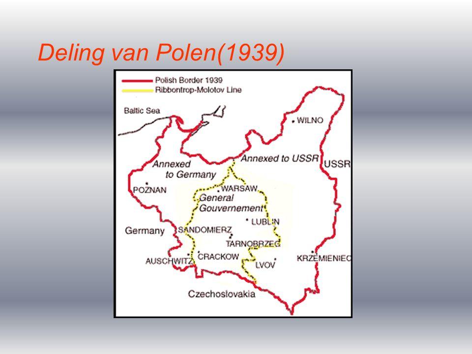 Deling van Polen(1939)