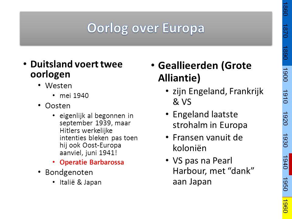 Oorlog over Europa Geallieerden (Grote Alliantie)