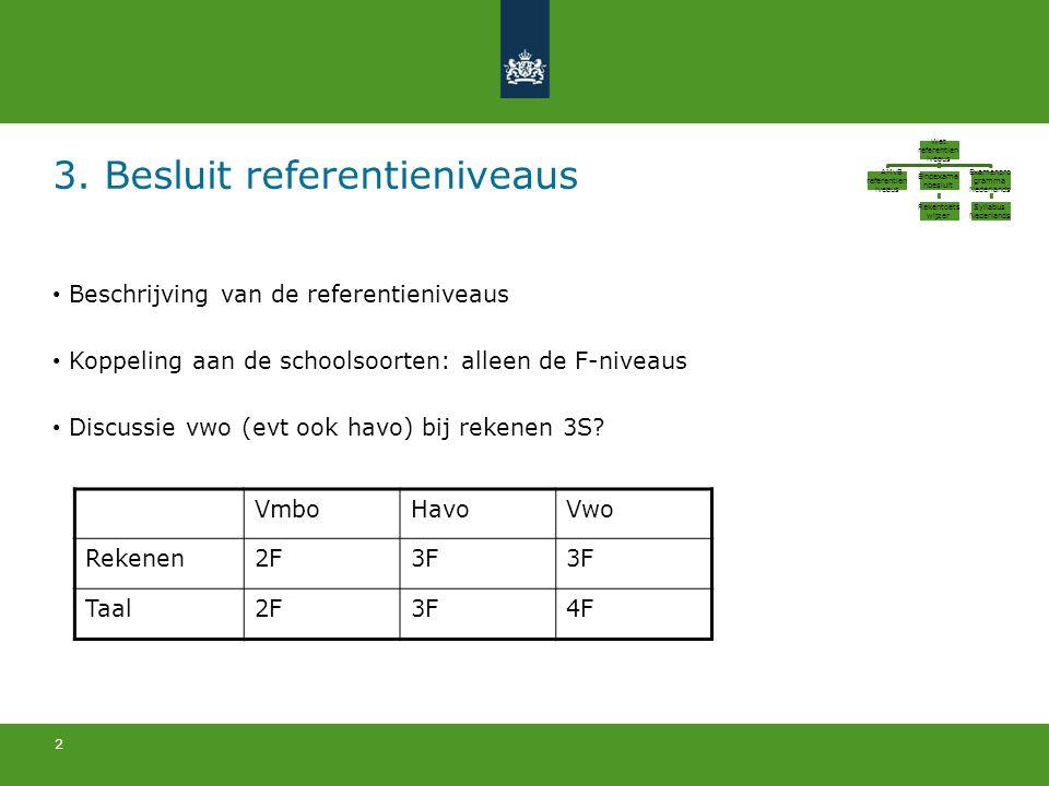 3. Besluit referentieniveaus