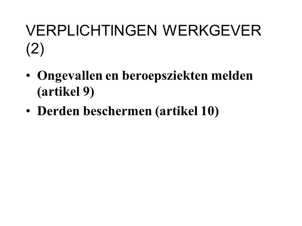 VERPLICHTINGEN WERKGEVER (2)