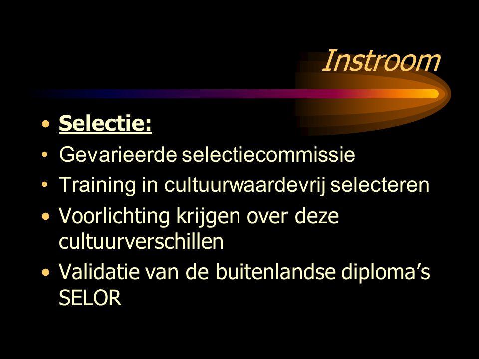 Instroom Selectie: Gevarieerde selectiecommissie