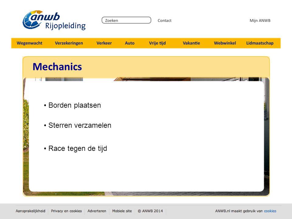 Mechanics - Borden plaatsen