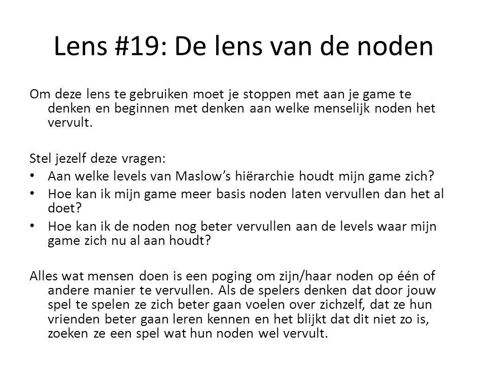Lens #19: De lens van de noden