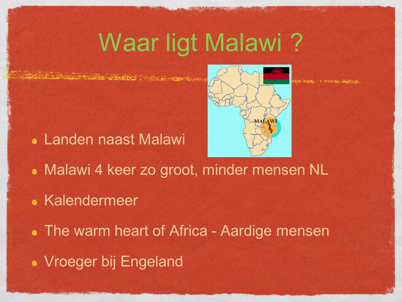 Waar ligt Malawi Landen naast Malawi
