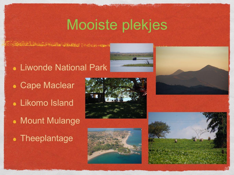 Mooiste plekjes Liwonde National Park Cape Maclear Likomo Island