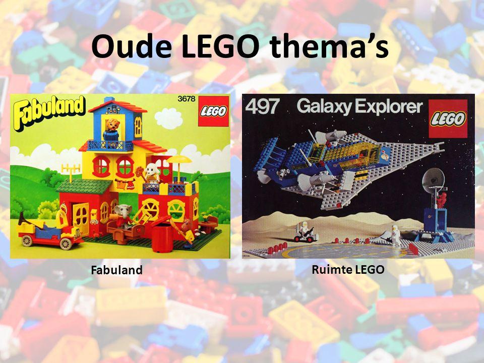 Oude LEGO thema's Fabuland Ruimte LEGO