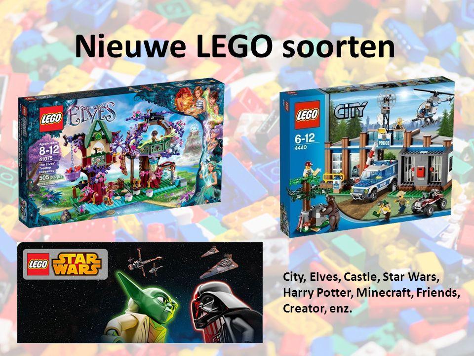 Nieuwe LEGO soorten City, Elves, Castle, Star Wars,
