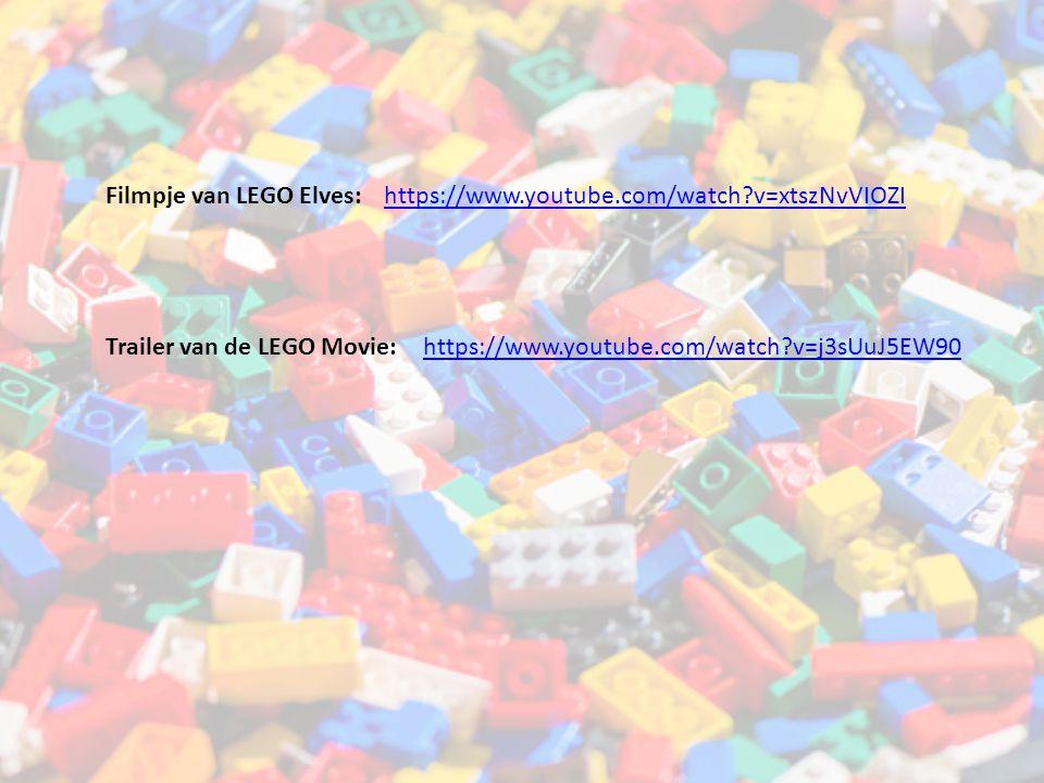 Filmpje van LEGO Elves: