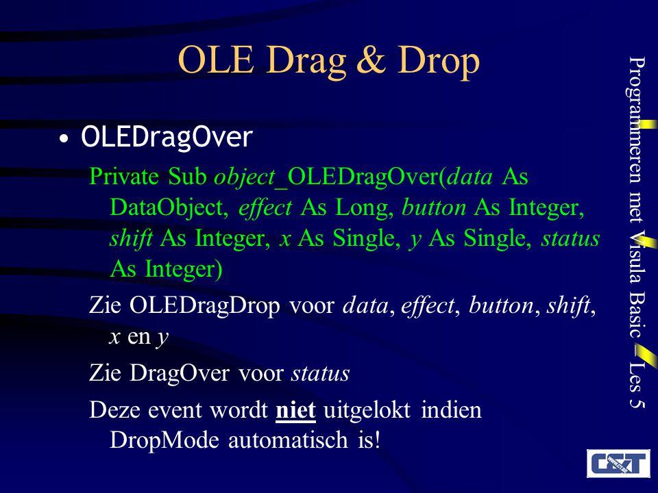OLE Drag & Drop OLEDragOver