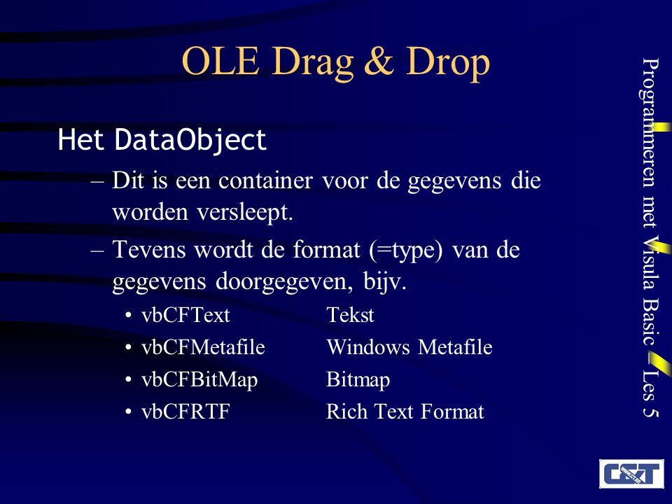 OLE Drag & Drop Het DataObject
