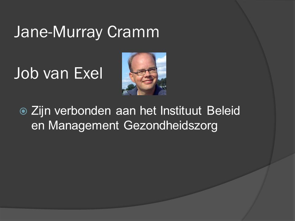 Jane-Murray Cramm Job van Exel