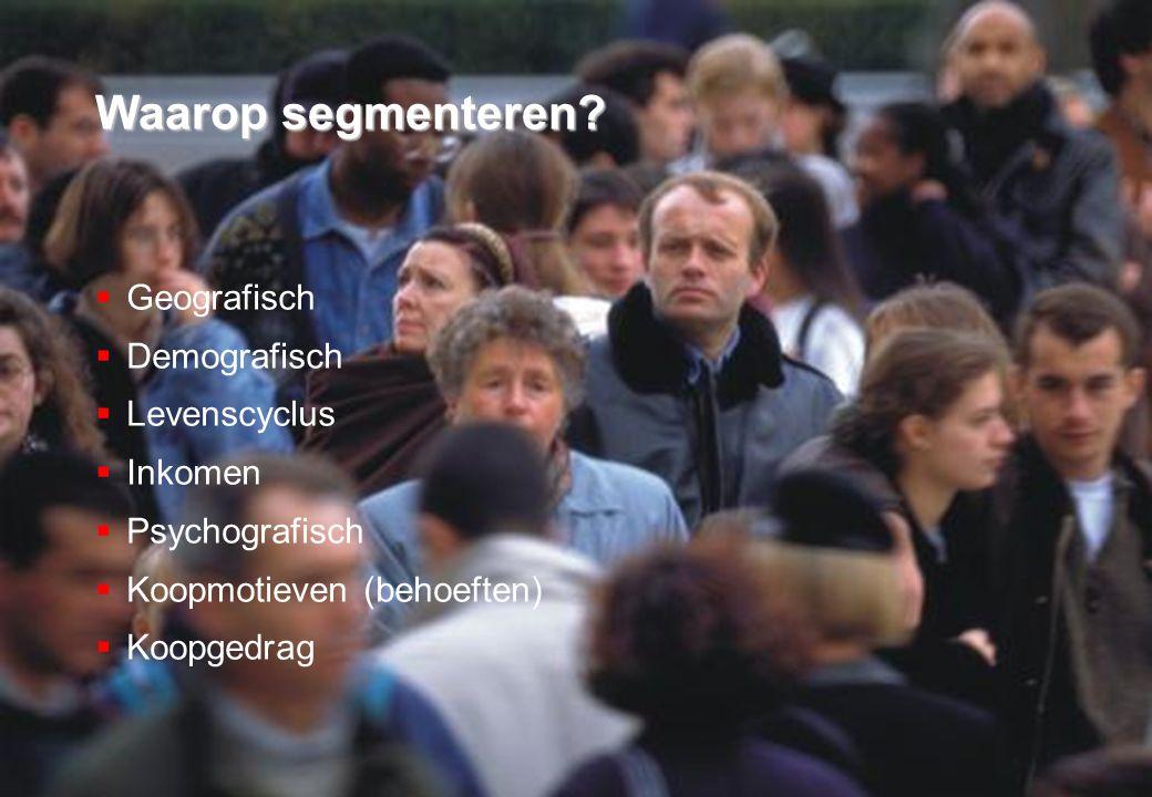 Criteria voor geldige segmentatie