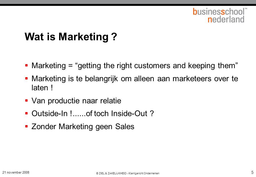 Marketing = Klantensucces = Ondernemingssucces