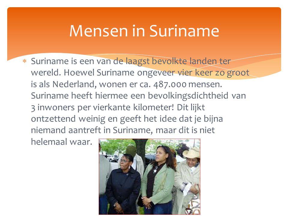 Mensen in Suriname