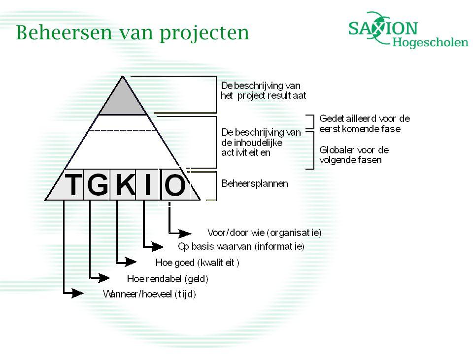 Beheersen van projecten