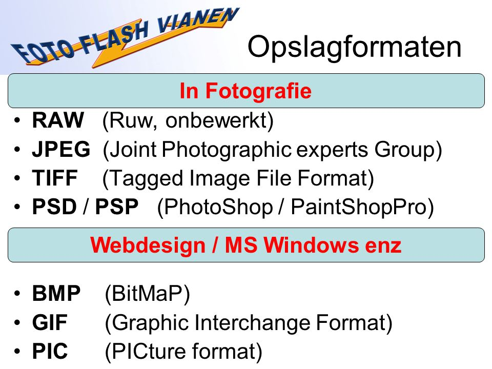 Webdesign / MS Windows enz