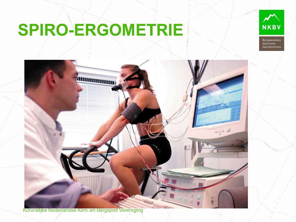 Spiro-ergometrie